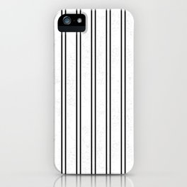 Vertical Lines and Cracked iPhone Case