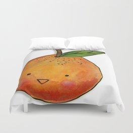 Cutie Orange Head Duvet Cover