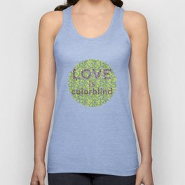 Love is Colorblind Unisex Tank Top
