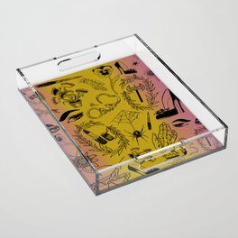 Queer Femme Fatale Acrylic Tray