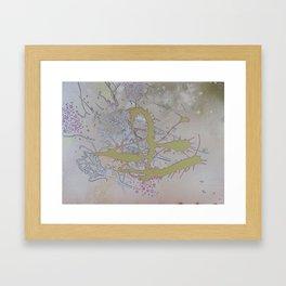 Green Mangroves 2 Framed Art Print