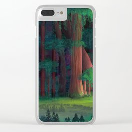 The Ancient Forest Clear iPhone Case