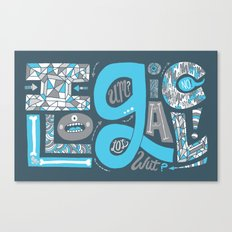 Illogical Canvas Print
