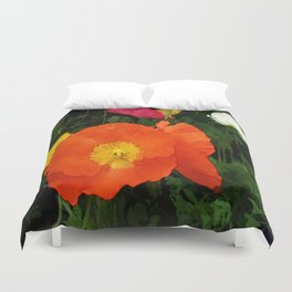 Poppies One Duvet Cover