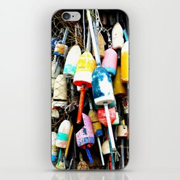 Maine Lobster Bouys iPhone Skin