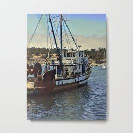 Monterey Fishing Metal Print