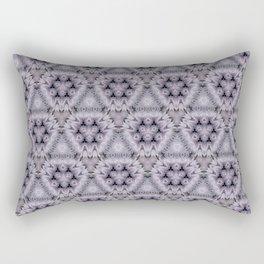 Pale Purple Pyramids Rectangular Pillow