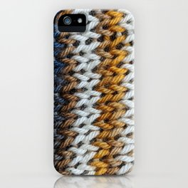 Neutral Stripes iPhone Case