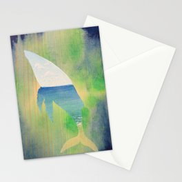 Beached Whale Stationery Cards