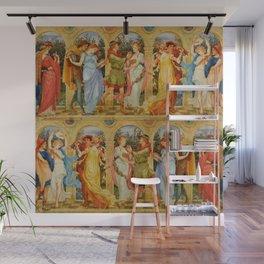 "Walter Crane ""The Dance of the Five Senses"" Wall Mural"