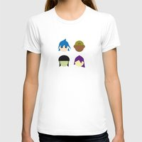 gorillaz T-shirts featuring Famous Capsules - Gorillaz by Greg Guillemin