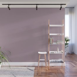 Dusty Mauve  Wall Mural