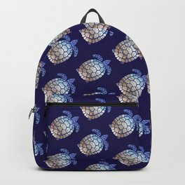 Turtle beach pattern Backpack
