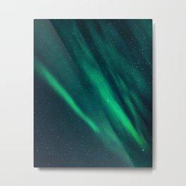 Mille Feuille Aurora Metal Print