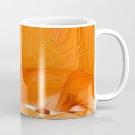 Lucy Sleeping West Coffee Mug