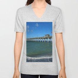 Winter In Florida Unisex V-Neck