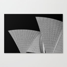 The Opera Canvas Print