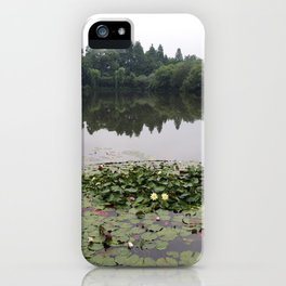 A Pond's Entrapment iPhone Case