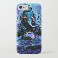 ganesh iPhone & iPod Cases featuring ganesh by Juan Pablo Fertitta