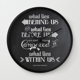 Within Us Wall Clock