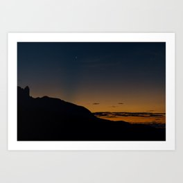Roraima Sunset Art Print