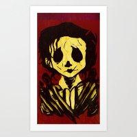 edward scissorhands Art Prints featuring Edward Scissorhands by Jide
