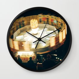 Round Up Wall Clock