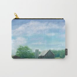 Farmstead Under Blue Skies Carry-All Pouch