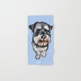 Barney the Miniature Schnauzer Hand & Bath Towel