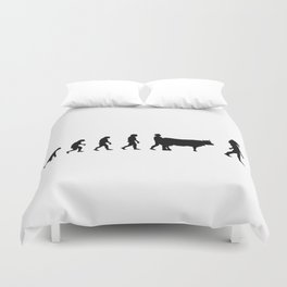 Mythologie and evolution Duvet Cover