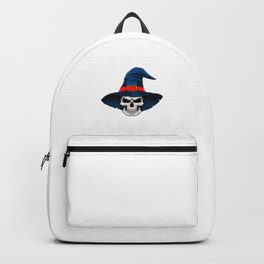 Bad And Spoopy Funny Halloween Horror Scary Backpack