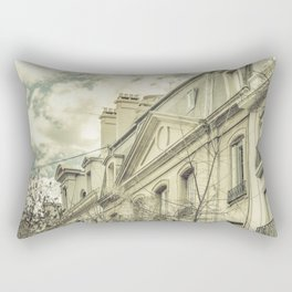 Neoclassical Style Buildings in Buenos Aires, Argentina Rectangular Pillow