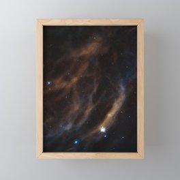 Hubble Space Telescope - Blowing cosmic bubbles Framed Mini Art Print