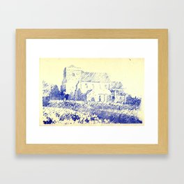 St Andrew Church Steyning England Framed Art Print