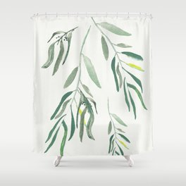Eucalyptus Branches II Shower Curtain