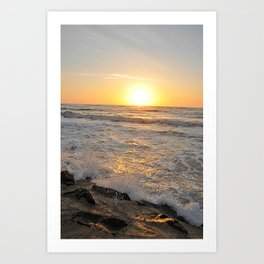 Morning Sunrise Art Print