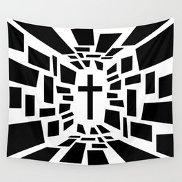 Christian Cross Wall Tapestry