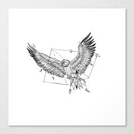 Geometric Season1:6 Eagle Canvas Print