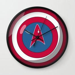 Captain, Federation Wall Clock