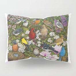 Garden Birds Pillow Sham