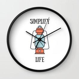 simplify Wall Clock