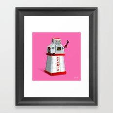 Madame Atomique Framed Art Print