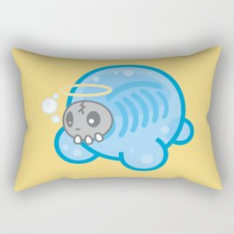 Tamanee Bubble Ghost Rectangular Pillow