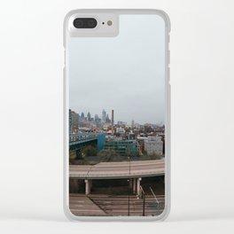 Philadelphia Clear iPhone Case