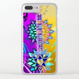 Fusion Keyblade Guitar #3 - Ultima Weapon (KH1) & Combined Keyblade Clear iPhone Case