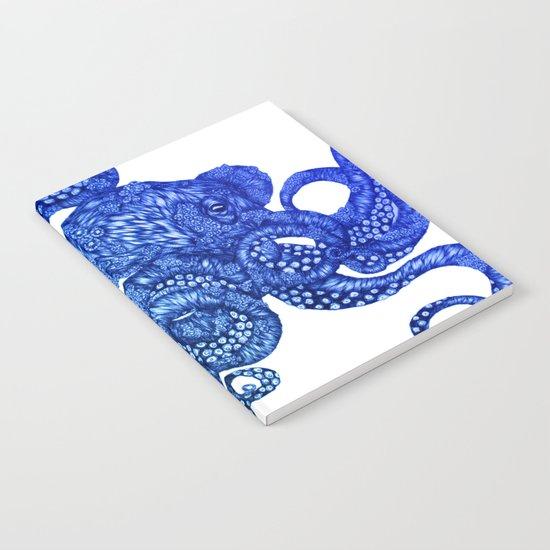 Ombre Octopus Notebook