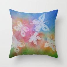 Butterfly Dream Throw Pillow