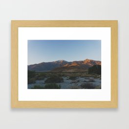 Mt San Jacinto - Pacific Crest Trail, California Framed Art Print