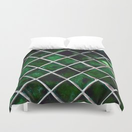 Emerald Pattern Duvet Cover