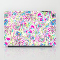 Paisley Watercolor Brights iPad Case
